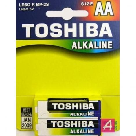Батарейка Toshiba AA, блистер