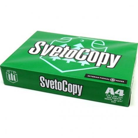 Бумага Sveto Сopy А4, 80г/м2, 500л., 146%