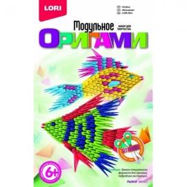 """Мб-023 Модульное оригами """"Рыбки"""""""