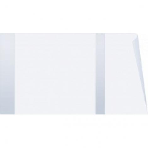 Обложка для тетрадей полиэтиленовая, плотный ПЭ 40 мк, 21x35