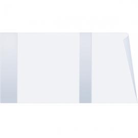 Обложка для учебников универсальная плотная, ПВХ 200мк, 455x233