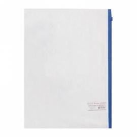 Папка на молнии А4, 110мкм, бесцветная