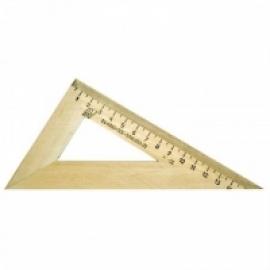 Треугольник 30гр, 16см, дерево