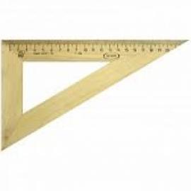 Треугольник 30гр, 23см, дерево