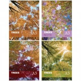 """Блокнот А5 40л. на гребне """"Color tree"""""""