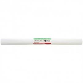Бумага крепированная 50*250 см, 32 г/м2, белая, в рулоне