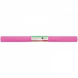 Бумага крепированная 50*250 см, 32 г/м2, розовая, в рулоне
