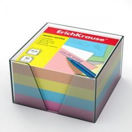 бумага настольная Erich Krause 90*90*50 мм в пластиковом контейнере