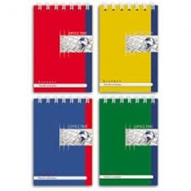 Блокнот А5 80л. ОФИС (КЛАВИАТУРА) (Б80-5664) ассорти, на гребне, цвет.мелов.обл, блок-офсет